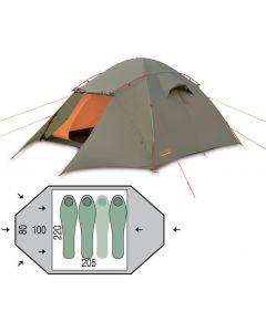 Палатка трехместная Pinguin - Taifun 3 Green, (PNG 134.3)