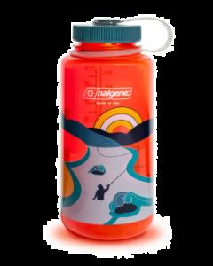 Бутылка для воды Nalgene Wide Mouth Retro Water Bottle 0.95L