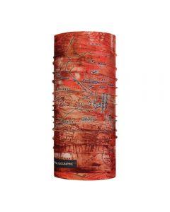 Шарф многофункциональный Buff NATIONAL GEOGRAPHIC COOLNET UV+ nomad rusty (BU 120100.404.10.00)